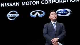 Jun Seki, hasta ahora número tres de Nissan, el día que fichó por la automovilística.