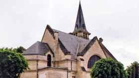 Una iglesia en Carlepont, Francia.