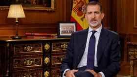 Felipe Vi durante en discurso de Navidad del pasado año.