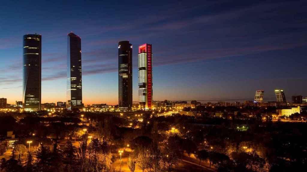 Imagen de la ciudad de Madrid.