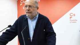 El vicepresidente de la Junta de Castilla y León y líder autonómico de Cs, Francisco Igea.