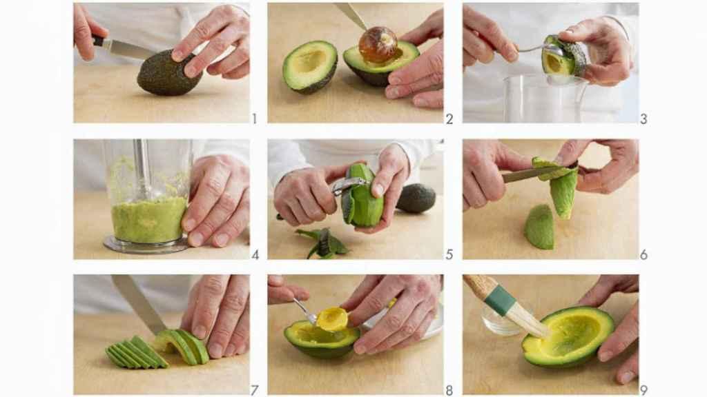 Cómo preparar el aguacate.