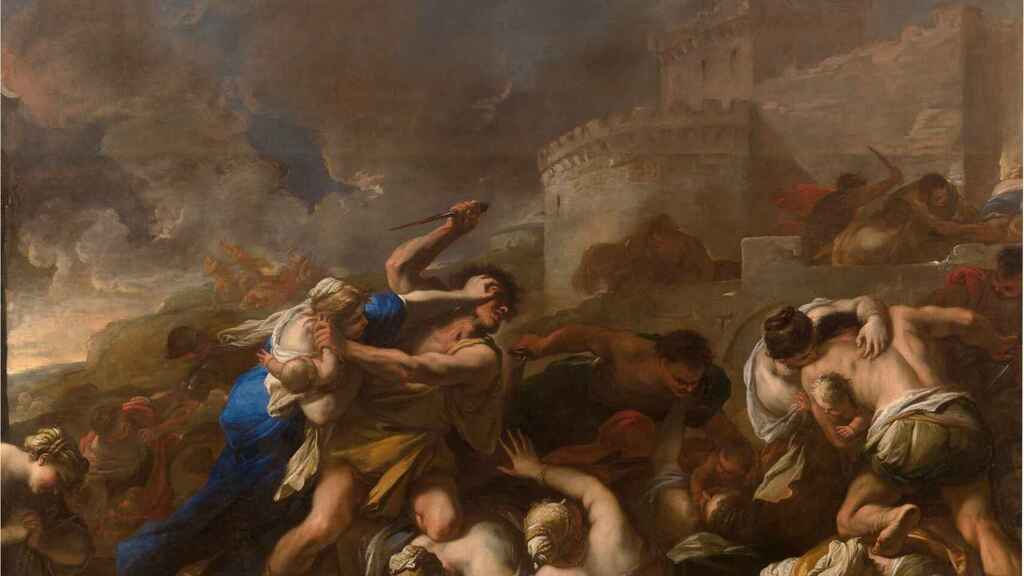 'Degollación de los inocentes', de Luca Giordano.