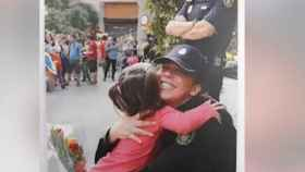 Imagen de la felicitación de Navidad del director de la Policía Nacional.