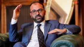 El ministro de ·Educación italiano, Lorenzo Fioramonti.