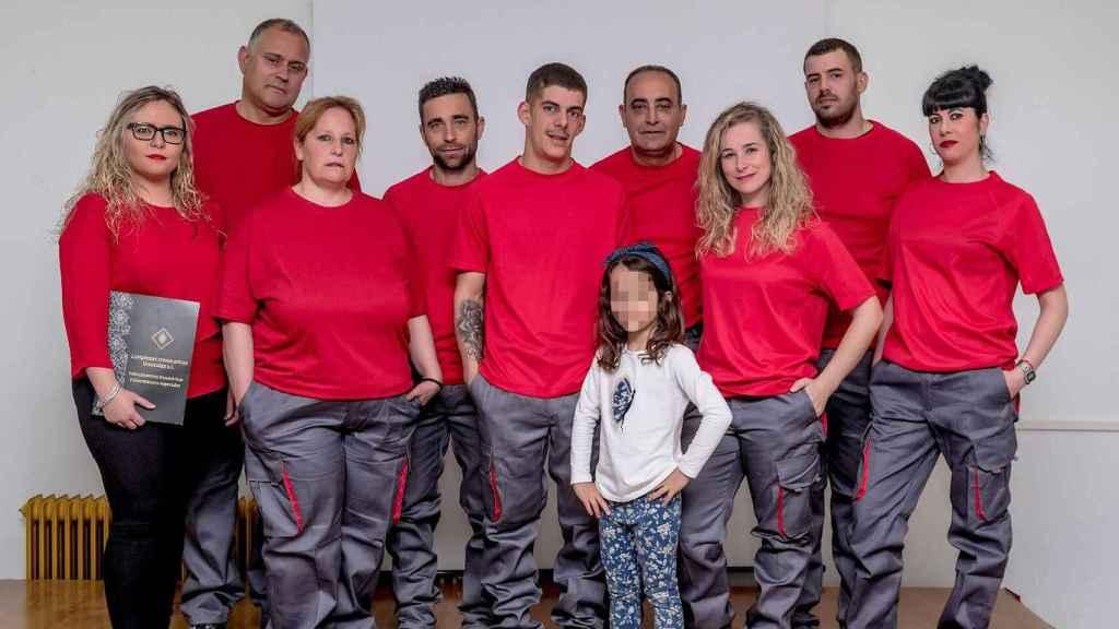 El equipo de Limpiezas Traumáticas González.