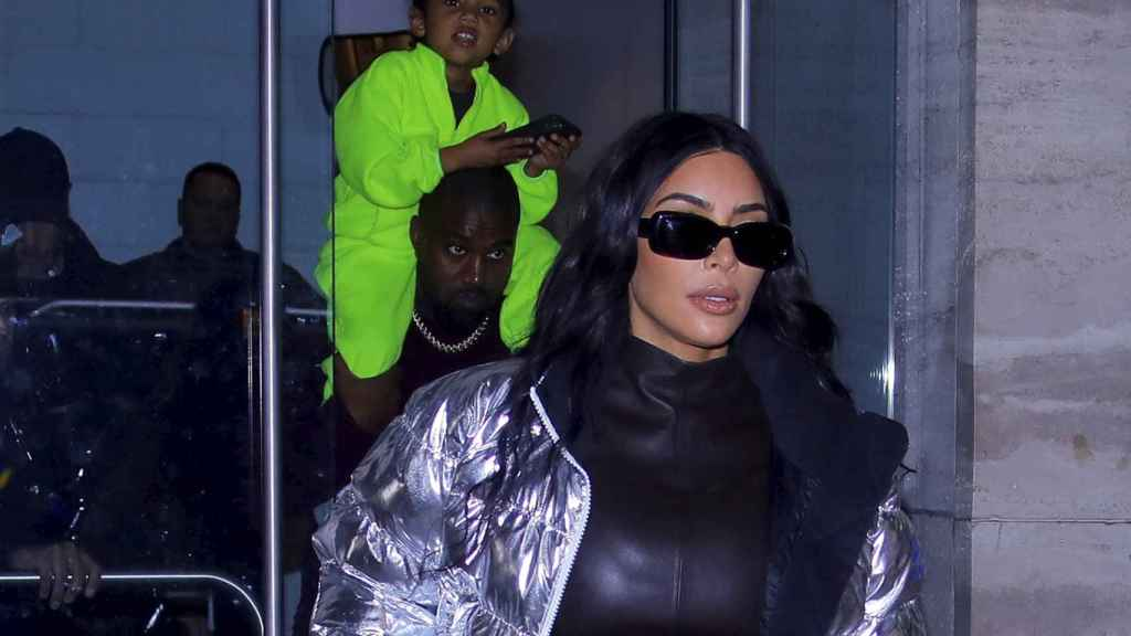 North es la hija mayor de Kim Kardashian y Kanye West.