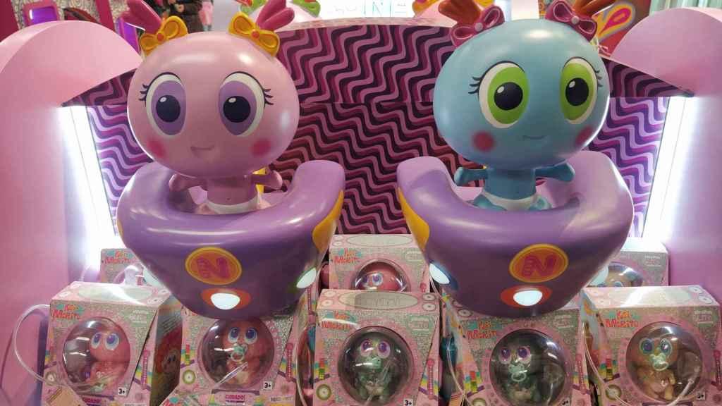 Los polémicos Ksi-Meritos, en las estanterías de las jugueterías que los venden.