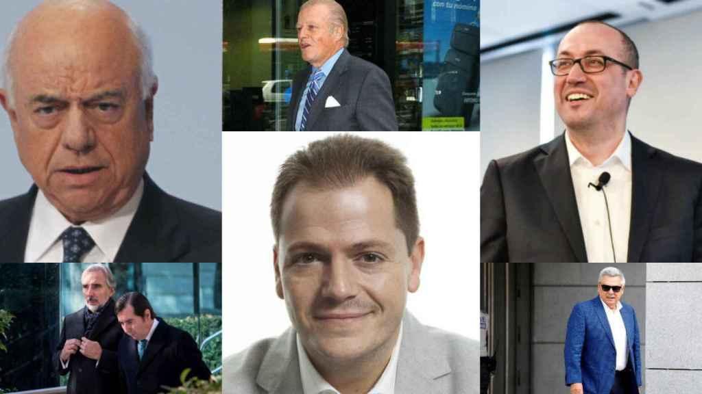 FG, Emilio Ybarra, Onur Genç, Juan Asúa, Alejandro Suárez y Julio Corrochano.
