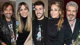 Algunos de los famosos que colaborarán en la gala en montaje de TVE.