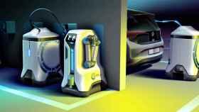 Robot de recarga de coches eléctricos