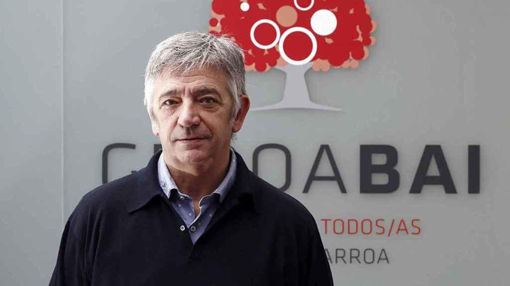 El senador autonómico de Geroa Bai, Koldo Martínez,