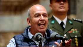 Arturo Murillo, ministro de Interior de Bolivia.