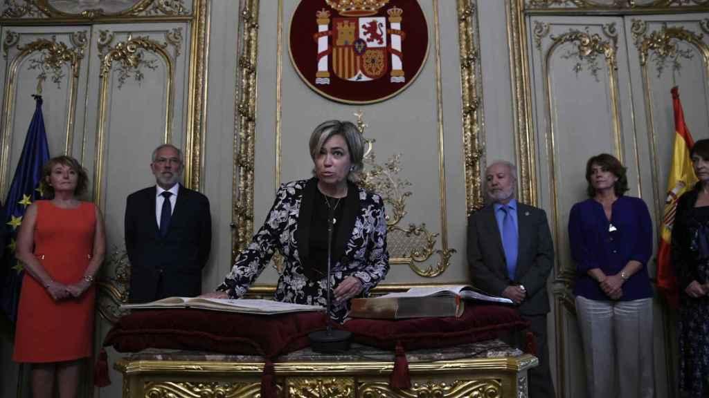 Consuelo Castro Rey, abogada General del Estado.