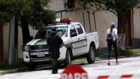Urbanización La Rinconada,  al sur de La Paz, donde tuvo lugar el incidente diplomático.