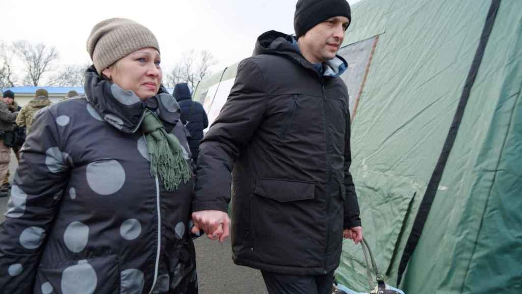 Liberación de prisioneros de guerra en Ucrania.