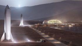 Marte según SpaceX
