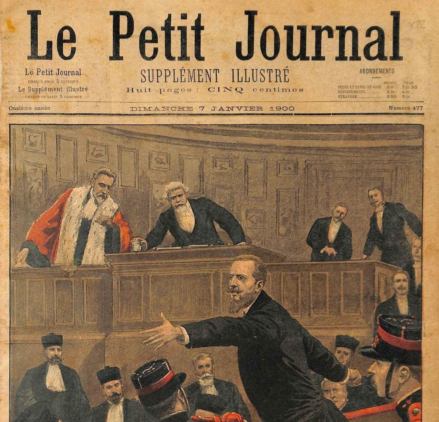 El diario Le Petit Journal.