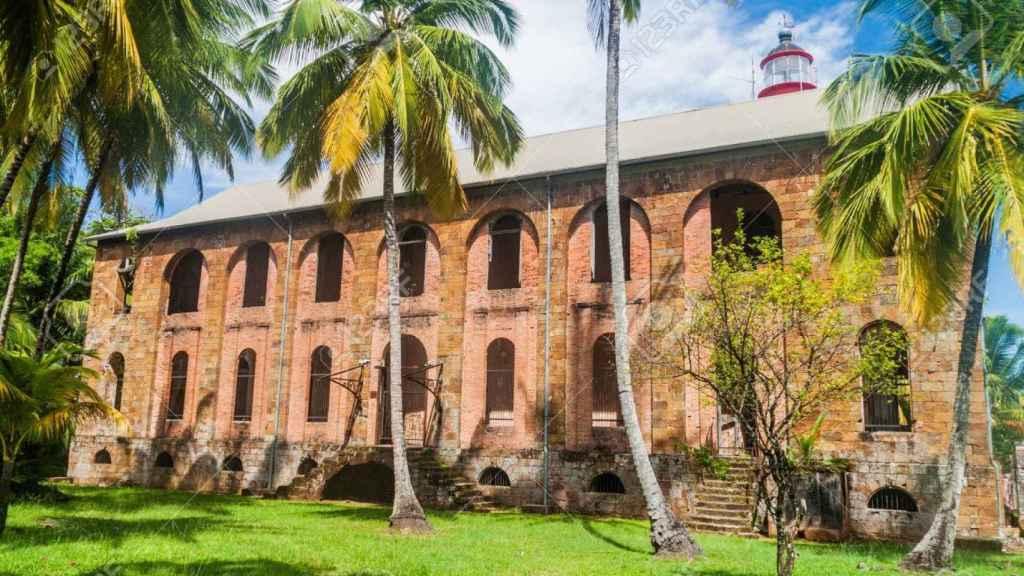 Una de las leproserías de la Guayana.