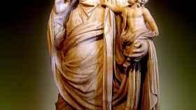 Mesalina y su hijo Británico.