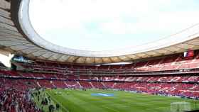 El Metropolitano acogió la final de 2018