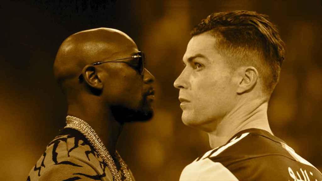Mayweather y Cristiano Ronaldo