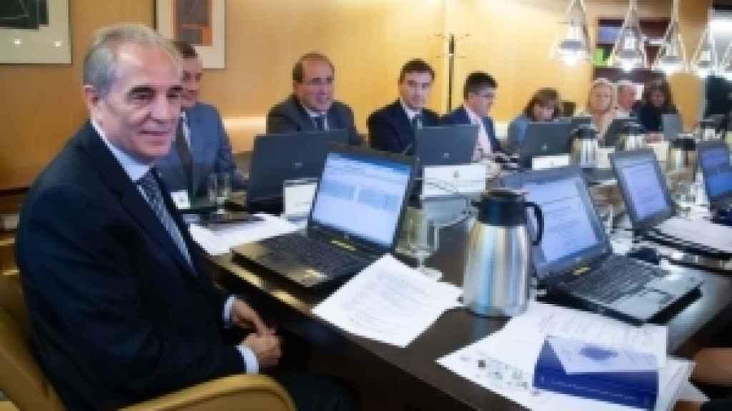 Reunión de la Junta Electoral Central./