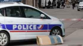 Un vehículo de la policía francesa.