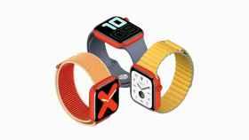 Un Apple Watch Series 5 rojo llegaría en 2020