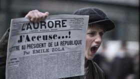 Un fotograma de la película 'Yo acuso' de Roman Polanski.