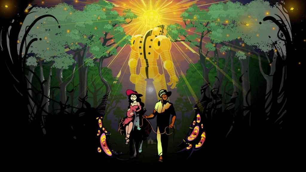 Ilustración de la portada de la novela gráfica 'El Salado'