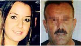 Maje y su amante, Amador Vidal, condenado por abusos sexuales a una menor.