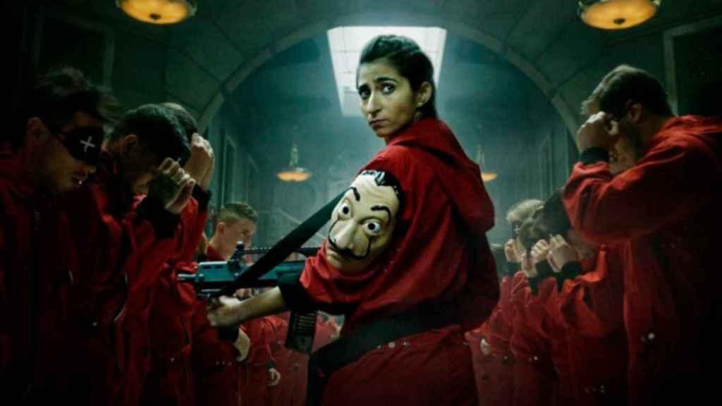 Alba Flores en 'La casa de papel' (Netflix)