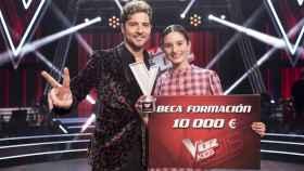 David Bisbal gana por primera vez 'La Voz Kids' gracias a Irene Gil