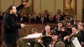 El letón Andris Nelsons ha dirigido a la Orquesta Filarmónica de Viena