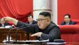 Kim Jong Un, asiste a la 5ª Reunión Plenaria del 7º Comité Central del Partido de los Trabajadores.