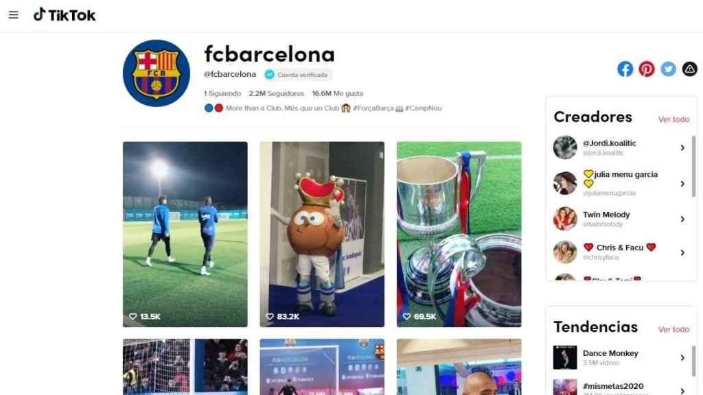 Equipos de fútbol como el FC Barcelona son un ejemplo de marcas que pueden lograr su emplazamiento con éxito.