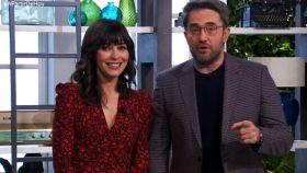 Marta Fernández y Máximo Huerta, en el programa 'A partir de hoy'.