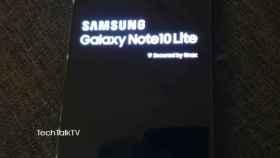 Galaxy Note 10 Lite: primeras imágenes reales del móvil