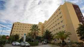 Hospital Universitario de Torrecárdenas, donde permanece ingresada la joven