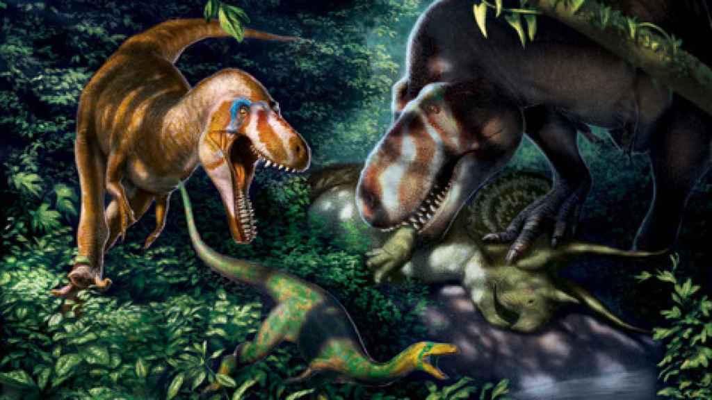 Los crías juveniles del Tyrannosaurus rex tenían pies ligeros y dientes como cuchillos.