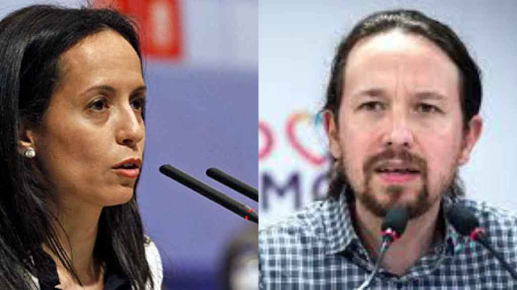 Beatriz Corredor y Pablo Iglesias.