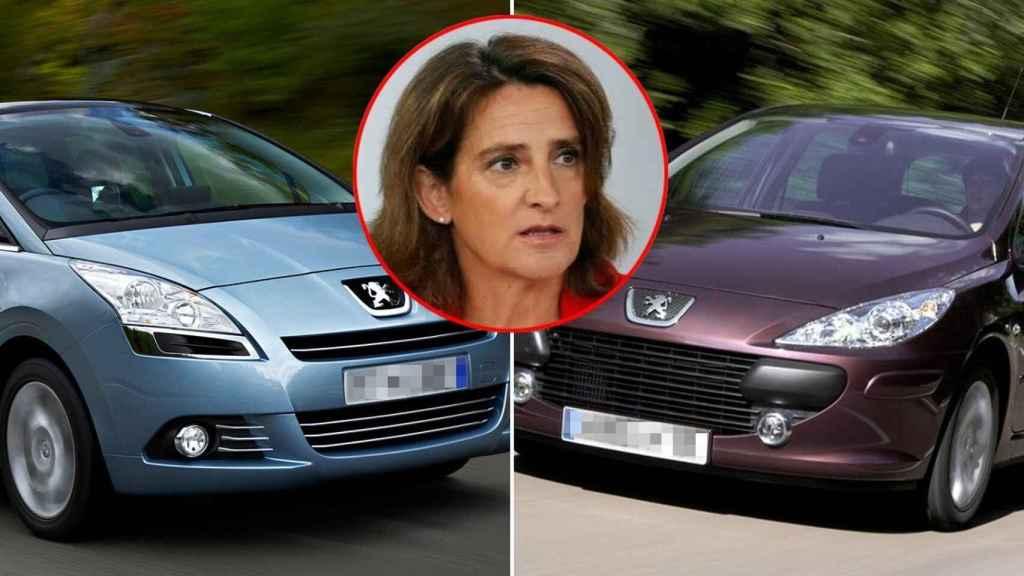 Teresa Ribera (PSOE) La ministra para la Transición Ecológica tiene dos Peugeot: un 5008 del año 2011 y un 307 del año 2007.