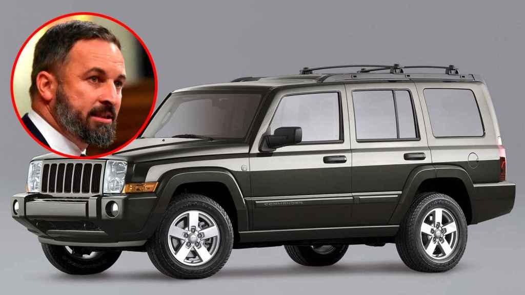 Santiago Abascal (Vox) El líder de Vox conduce un todoterreno Jeep Comander, adquirido en el año 2015.