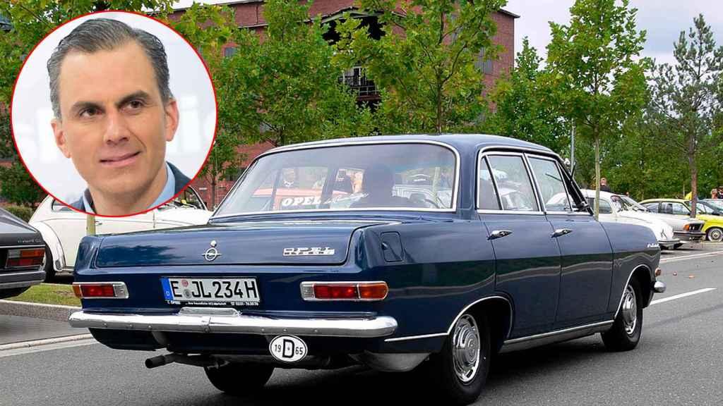 Javier Ortega Smith (Vox) El secretario general de Vox tiene, además de un Opel Astra (2017), el coche más antiguo de todos los diputados: un Opel Record Olimpia del año 1965.