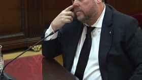 Oriol Junqueras, en el juicio del Supremo.