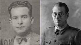 Fortunato Aguirre y Emilio Mola.
