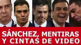 Un camión recorrerá Madrid para mostrar vídeos de Sánchez cuando criticaba a los separatistas
