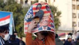 Manifestación contra Trump en las calles de Teherán