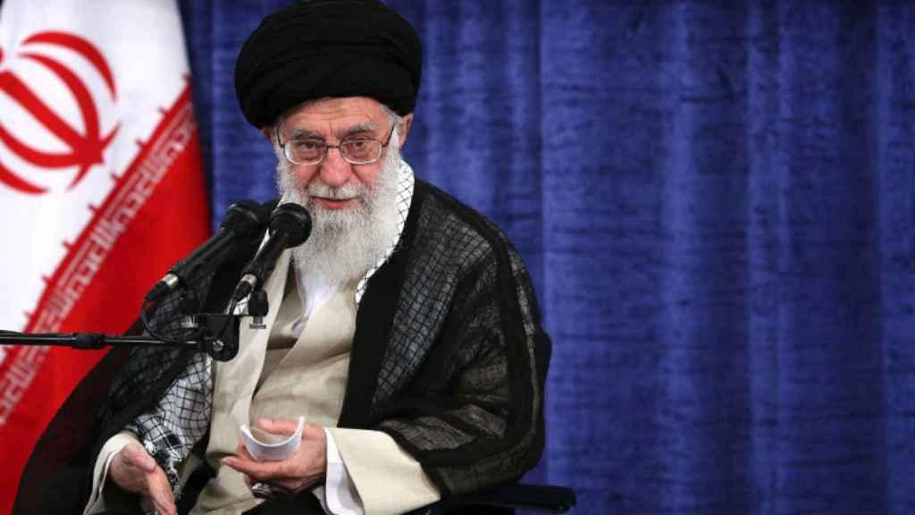 El líder de la Revolución Islámica de Irán, el ayatola Ali Jamenei.